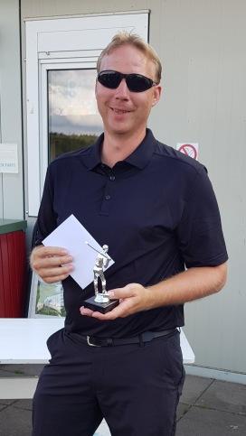 Vinnare KM matchspel: Morgan Axedén
