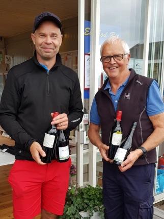 2:a plats: Henrik Jonsson ifrå Alvarssons Bygg och Harald Andersson