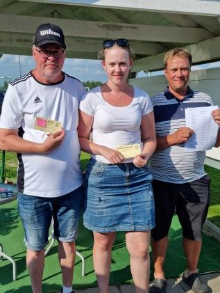 1:a plats: Tomas Fingalsson, Elsa Fingalsson
