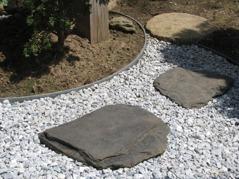 Ecolat kantband trädgårdsgångar
