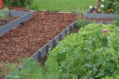 Kantband till trädgården