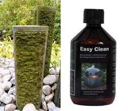 Easy Clean mot algbeläggning på vattenstenar