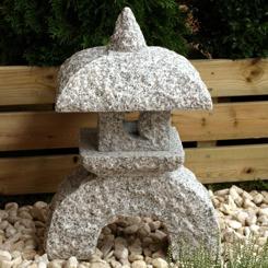 Japansk trädgård , japanskt granithus nikumi zen trädgårdskonst