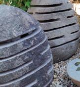 granitlampa granitlykta japansk trädgård trädgårdskonst