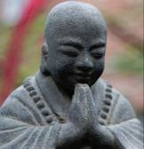 budda trädgårdsfigur zen stenfigur trädgårdskonst