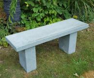 granitbänk trädgårdsbänk bänk granit trädgårskonst