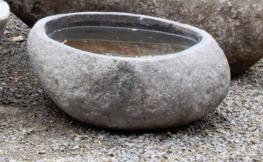 fågelbad natursten granitfågelbad polerad granit