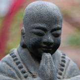 budda trädgårdsfigurer zen asiatiska figurer munk