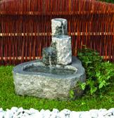 vattenstenar granit fontänsten trädgårdskonst