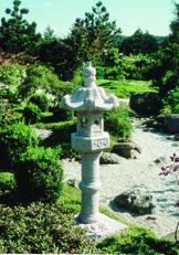 japansk trädgård granithus lanterna kasuga