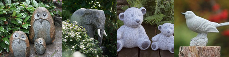 stenfigurer, trädgårdsfigurer, stenfigurer, trädgårdskonst