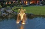 Pumpar till flytande fontäner