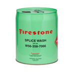 Firestone gummiduk, firestone skarvmaterial, firestone lim, laga dammduk, hål i dammduk, dammbygge