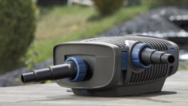 Oase Aquamax Eco Premium filterpump till dammen.