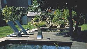 Oase Formpressad damm, modern trädgårdsdamm, dammprodukter , trädgårdsdamm önnestad