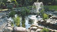 Oase Stonecor , formpressad damm , trädgårdsdamm