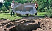 Oase Stonecor damm, anlägga trädgårdsdamm, dammprodukter önnestad