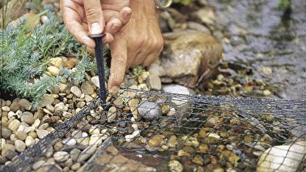 Dammnät, Oase aquanet, oase skyddsnät, dammprodukter till trädgårdsdammar