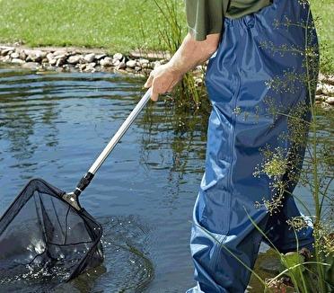 Oase dammhåv, fiskhåv till dammen, oase dammprodukter till trädgårdsdamm