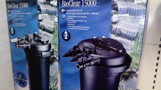 bioclear filter , dammprodukter önnestad