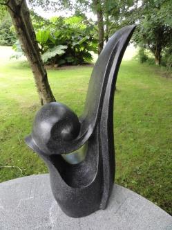 trädgårdskonst, trädgårdsfigur, terazzo modern design