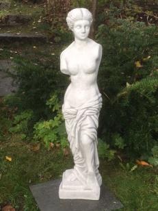Trädgårdsstaty, vit marmorkonst, trädgårdskonst