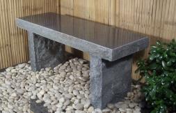stenbänk, granitbänk , trädgårdbänk,