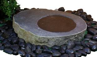 fågelbad i natursten fågelbad granit, granitsten