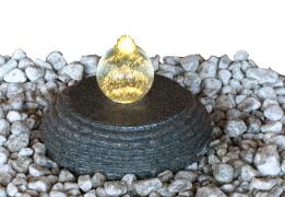 vattensten , fontänsten , granitfontän , dammprodukter, vatten i trädgården