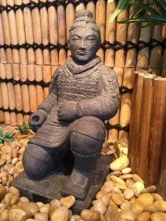 trädgårdskonst kinesisk krigare, trädgårdsfigur, japansk trädgård