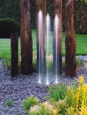 oase fontän, water trio, munstycke, hoppande vatten