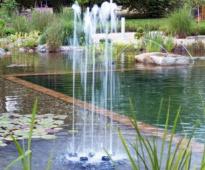 Oase fontän, Water quintet, munstycke.