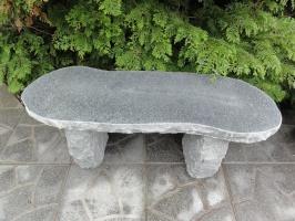 granitbänk trädgårdsbänk polerad granit granit