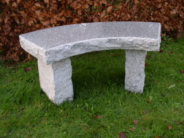 stenbänk, granitbänk, trädgårdsbänk, marmorbänk