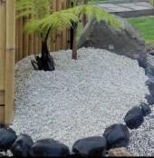 dekorsingen natursingel trädgårdskonst granit