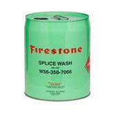 Firestone splice wash, skarva gummiduk, laga dammduk, dammbygge, bygga damm.