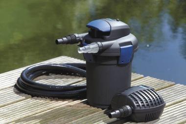 dammfilter , tryckfilter till dammen , Oase Biopres set 4000