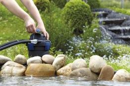 Tryckfilter till dammen , Oase Biopress set 4000, Dammfilterpaket