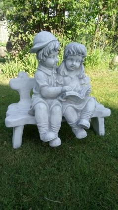 trädgårdskonst, marmorkonst, trädgårdsfigur