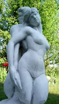 trädgårdskonst, trädgårdsstaty, marmorkonst, trädgårdsfigur