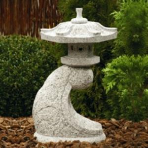japansk trädgård japanskt granithus Rankei zen trädgårdskonst