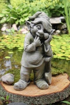 trädgårdskonst önnestad, trädgårdsfigur