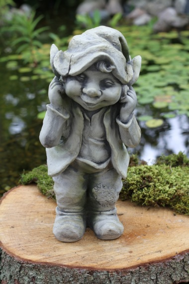 trädgårdskonst troll, filurer
