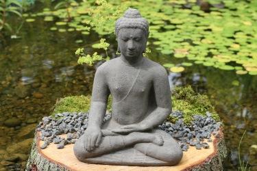 budda, trägårdskonst önnestad