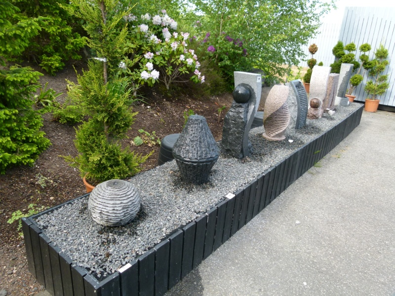 Vattenstenar fontäner