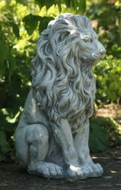 Staty Lejon trädgårdskonst