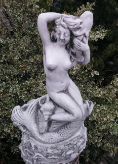 Staty Fontän trädgårdskonst