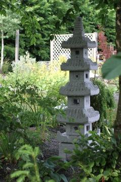 pagod lanterna japansk trädgård 150cm