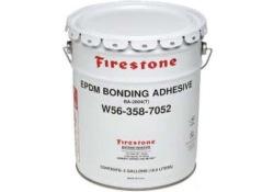 Firestone Bonding Adhesive, limma gummi mot betong, berg eller andra material