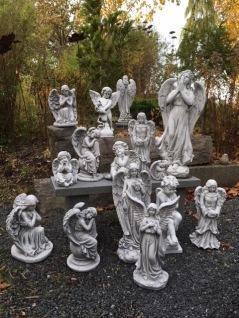Trädgårdskonst Änglar statyer